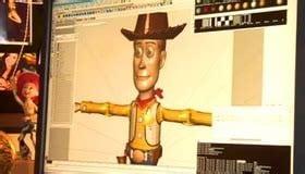 Image de Toy Story en 3D sur logiciel